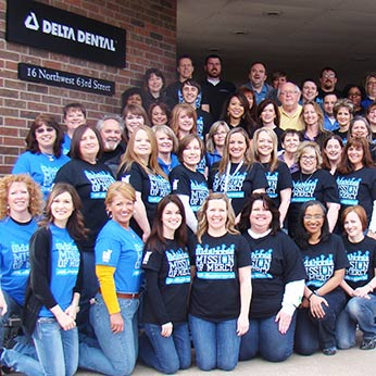 Delta Dental of Oklahoma Volunteers for Mission of Mercy.