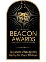 The Beacon Awards: Recognizing Citizen Leaders Lighting the Way in Oklahoma.