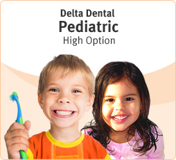 Delta Dental Pediatric High Option.
