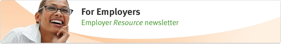 Employer Resource Newsletter