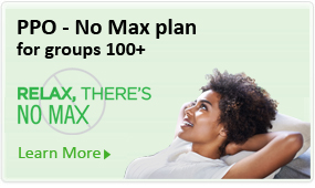 PPO - No Max Plan with no annual maximum