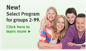 New! Select program groups for 2-99. Click here to learn more.