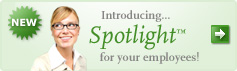 NEW Introducing... Spotlight for your Employees